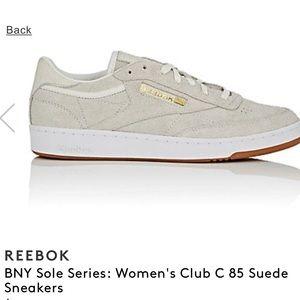 online store 1af92 1477c Reebok Shoes - REEBOK x BARNEYS NEW YORK club C 85 sneakers taupe